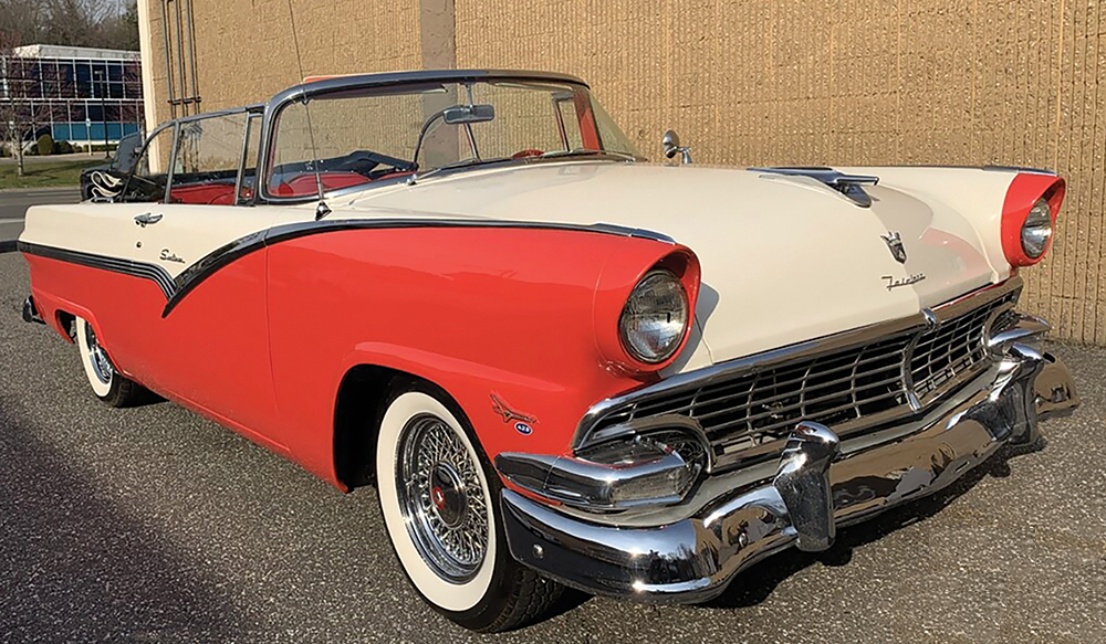 M&V Limousines, 1956 Ford Fairlane Skyliner