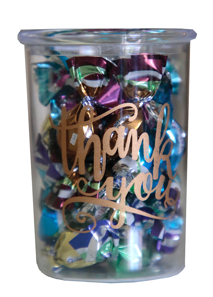 "Checkmates Candies ""Thanks You's"""