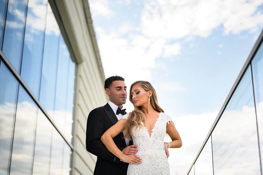 Kelsey & Joseph's Rooftop Wedding at Above