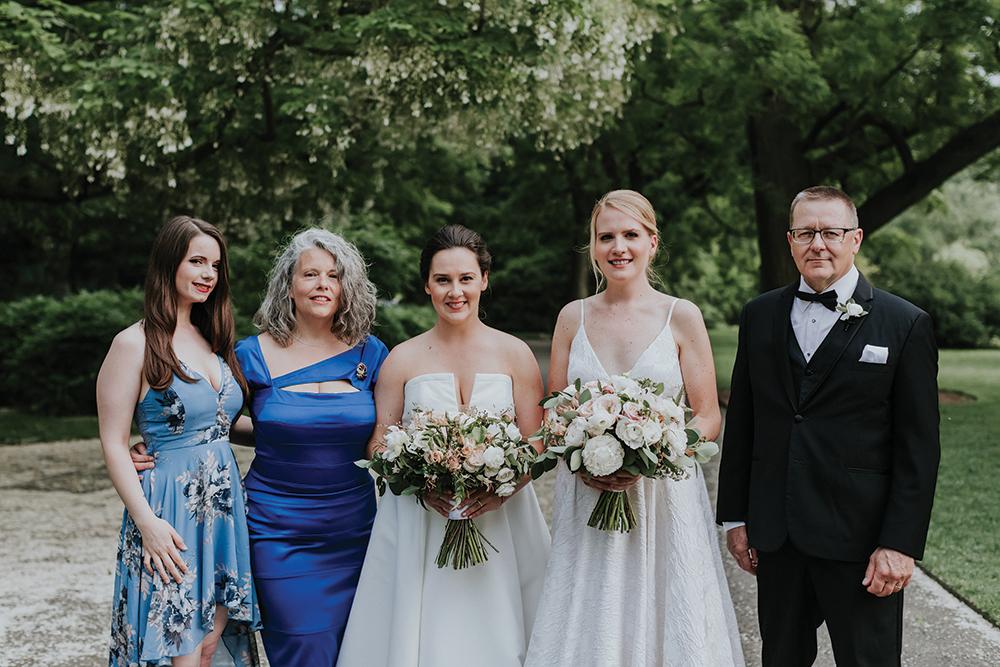 Megan & Corrine's Wedding at Brooklyn Botanic Garden
