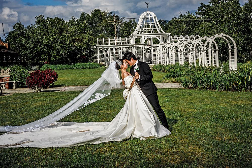 Kazue & Satoshi's Garden Wedding at Birchwood Manor