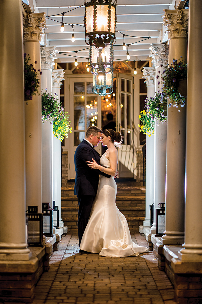 Dana & George's Estate Wedding at The Brownstone