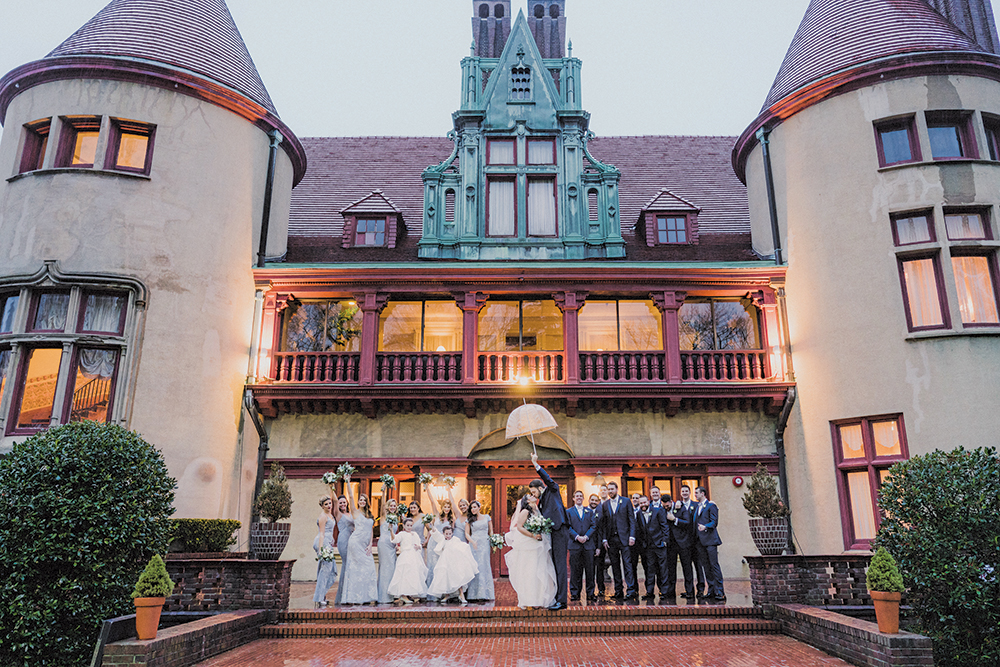 Dana & Thomas's Castle Wedding at Chateau at Coindre Hall