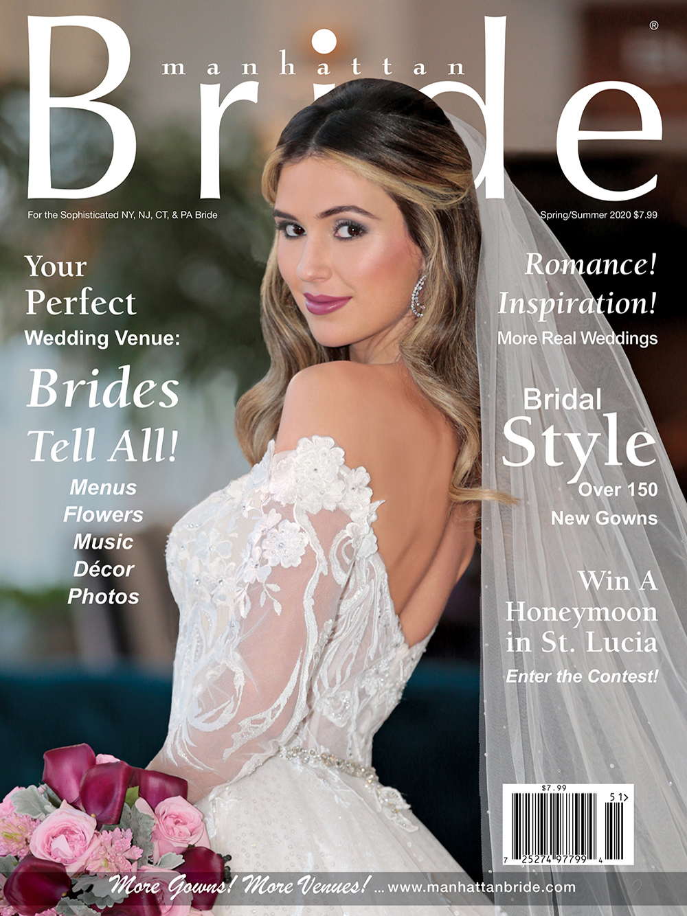Manhattan Bride Cover Spring/Summer 2020