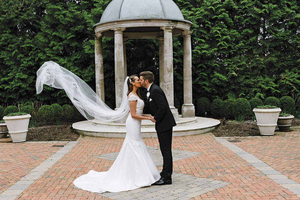 Kimberly & Justin's Garden Wedding at The Estate at Florentine Gardens