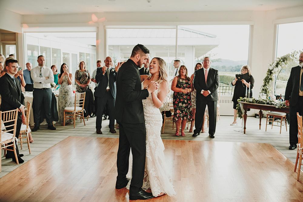 Kate & Tyler's Garden Wedding at The Garrison