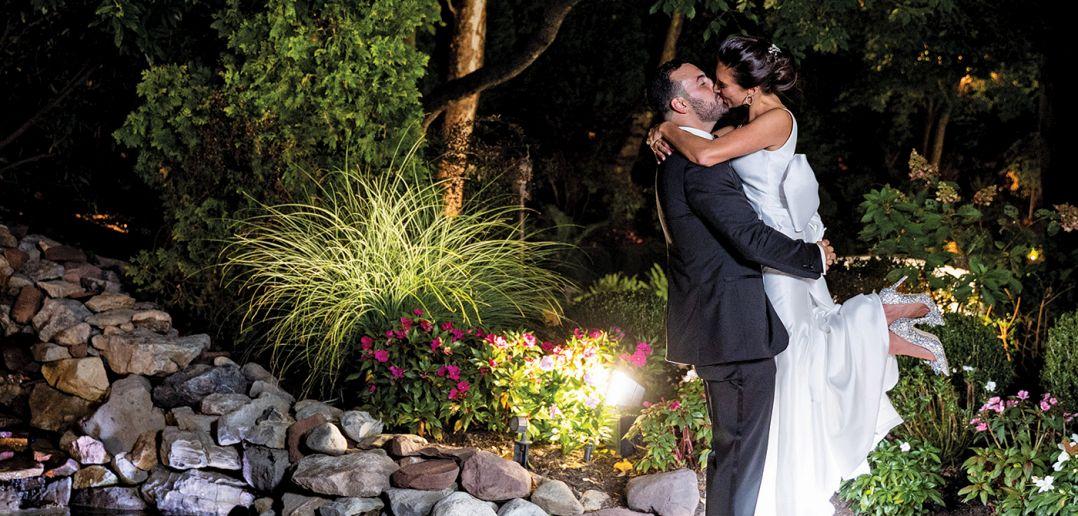 Natalia & Anthony's Garden Wedding at Nanina's in the Park