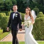 Elena & Vincent's Garden Wedding at OHEKA CASTLE
