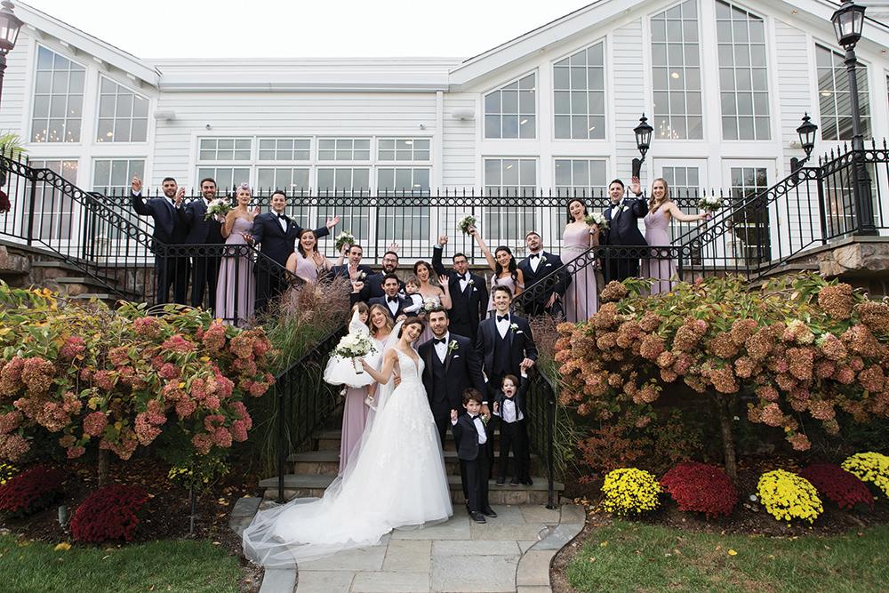 Jennifer & Anthony's Garden Wedding at The Park Savoy