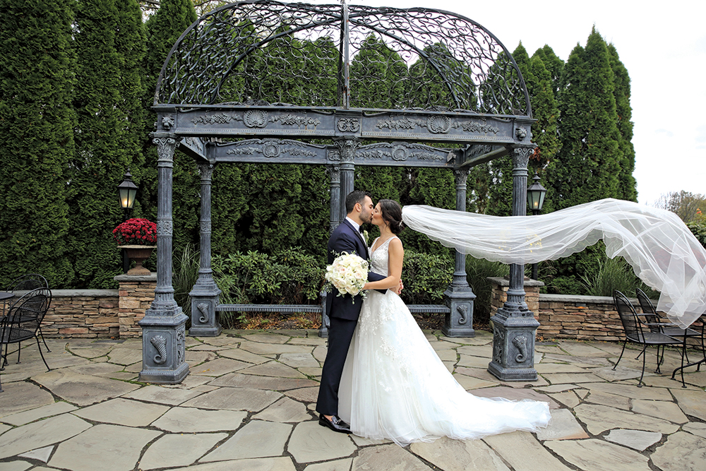 Jennifer & Anthony's Garden Wedding at The Park Savoy