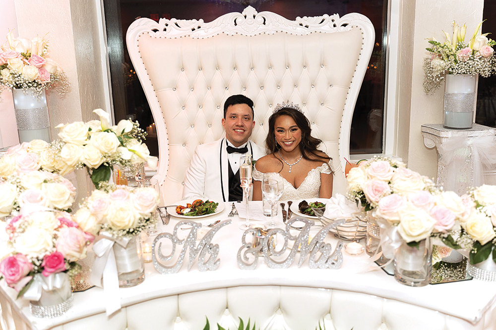 Angela & Justin's Wedding at Waterside Events