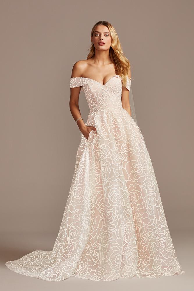 David's Bridal, David's Bridal Collection (WG4010, $999)