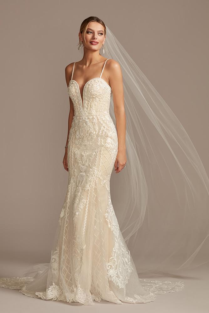 David's Bridal, Oleg Cassini (CWG878, $1499)