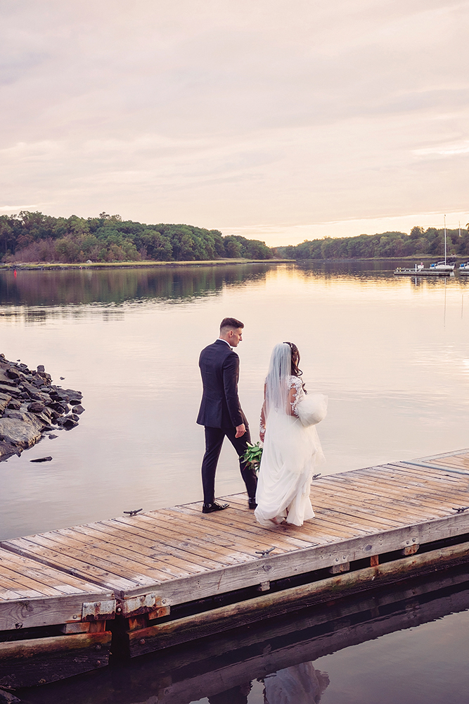 Alexandra & Paul's  Wedding at Glen Island Harbour Club
