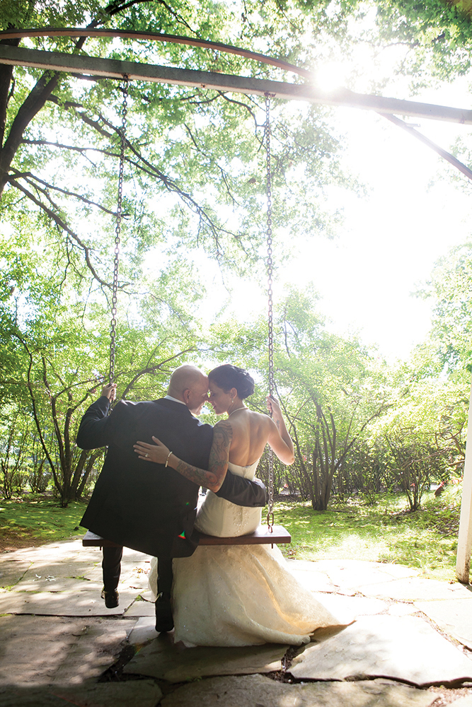 Above, Bridal Swing (Joey G's Memories Video & Photography)