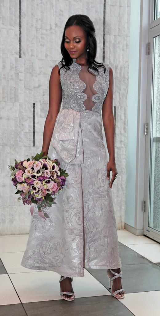 ch Designs Ltd.Gown: Jenny Couture. Bouquet: Douglas Ko