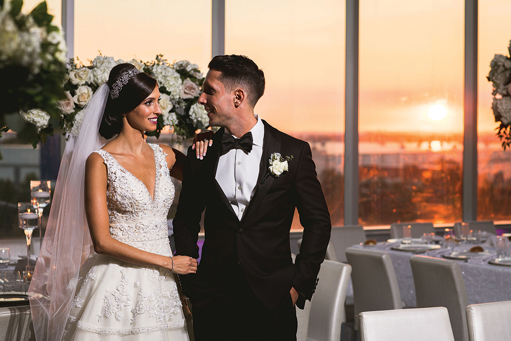 Kristy & Matthew's Wedding at Above (Philip Siciliano Photography)