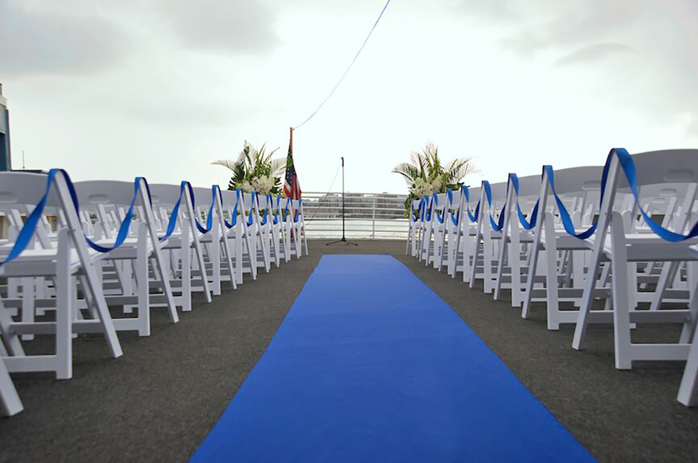 Smooth Sailing, Rooftop Ceremony