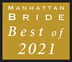 Manhattan Bride Best of 2021 Award