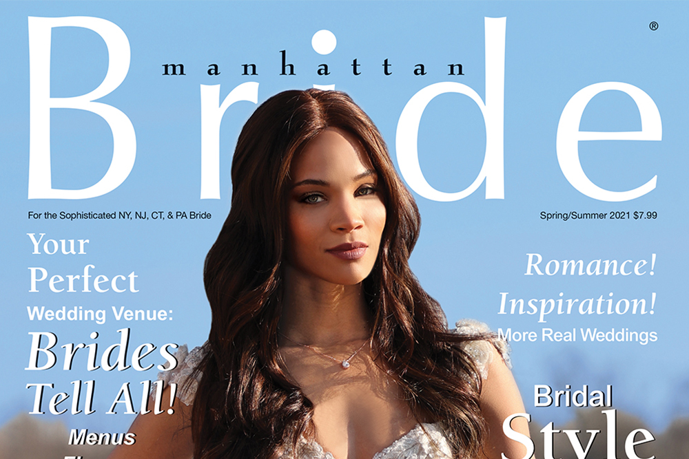 Manhattan Bride Cover Spring/Summer 2021