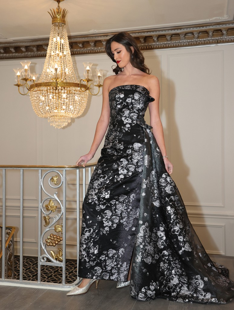 Gown: Bossina Couture (Mother of the Bride)