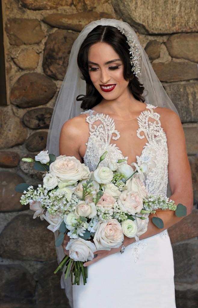 Gown: Bossina Designer Collection (Amelia) Bouquet: Bespoke Floral & Event Design