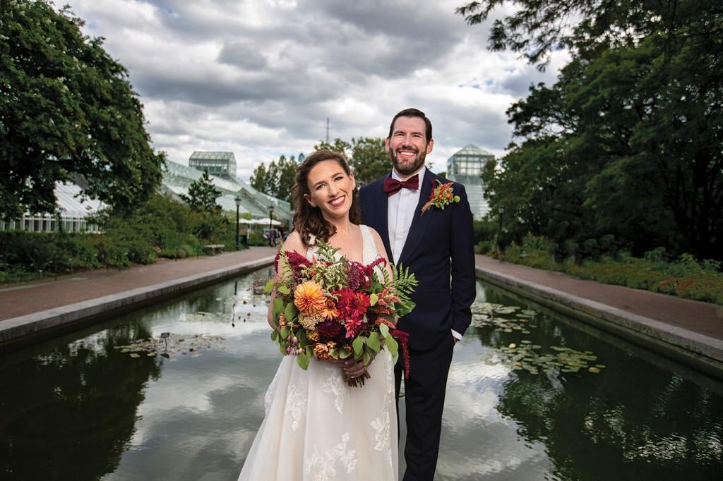Kate & Bret's Wedding at Brooklyn Botanic Garden