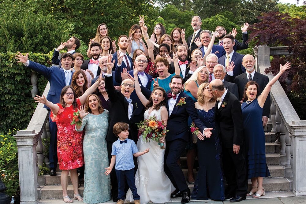 Kate & Bret's Garden Wedding at Brooklyn Botanic Garden
